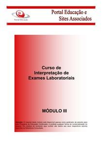 interpretação de exames laboratoriais (3) bioquímica i 4interpretação de exames laboratoriais (3)