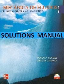 Mecánica de Fluidos Cengel Solutions Manual