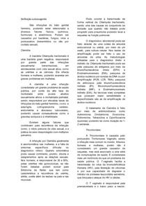 CITOLOGIA TRICOMONÍASE E CLAMÍDIA