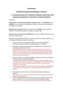 QUESTIONÁRIO MEMORIA E APRENDIZAGEM (2)