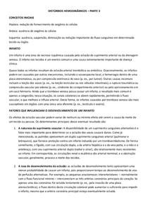 DISTÚRBIOS HEMODINÂMICOS  3