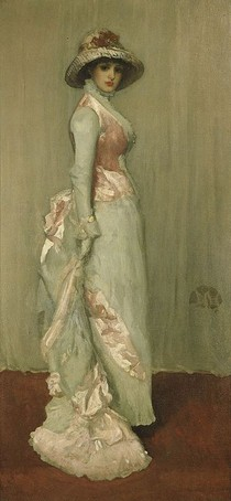 James Mcneill Whistler - Harmony in Pink and Grey (Portrait of Lady Meux)