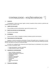 AULA DE NOÇÕES BÁSICAS EM CONTABILIDADE BÁSICA
