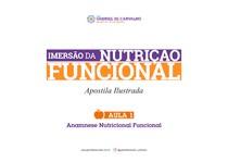 Apostila Aula 1 (Anamnese) - Imersão da Nutriçao Funcional