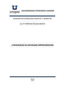 PORTFÓLIO - A REINVENÇÃO DA SOCIEDADE EMPREENDEDORA - COMPLETO