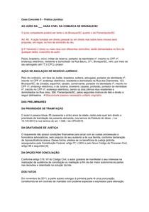 Caso Concreto 5 - AÇÃO DE ANULAÇÃO DE NEGÓCIO JURÍDICO