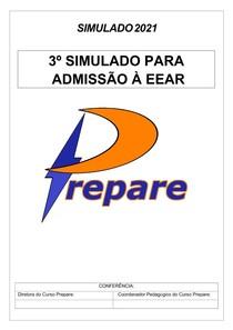 3º SIMULADO EEAR- CURSO PREPARE 2021 docx