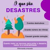 O que são Desastres