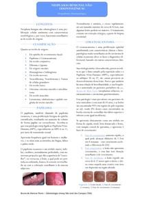 Resumo - Neoplasias Benignas Não-odontogênicas
