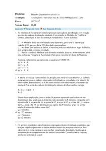 avaliação II métodos quantitativos uniasselvi cod 443082 03052019