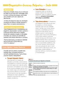 Diagnóstico doenças Pulpares - Endo