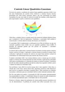 Controle Linear Quadrático Gaussiano