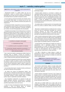 Métodos contraceptivos e planejamento familiar
