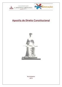 Apostila de Direito Constitucional (resumão)