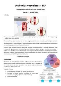 Urgências vasculares - parte 1