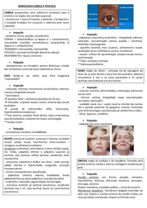 SEMIOLOGIA CABEÇA E PESCOÇO