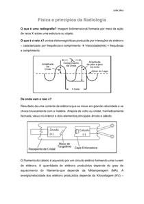 Física e Princípios da Radiologia