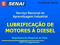 LUBRIFICAÇÃO DE MOTORES DIESEL
