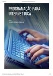 PROGRAMAÇÃO PARA INTERNET RICA