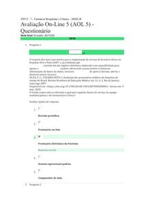 AOL 5 Farmácia hospitalar e clínica 20202 B