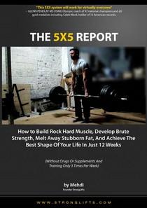 Stronglifts 5x5 - Method's Report - Metodologia de Treino - 42