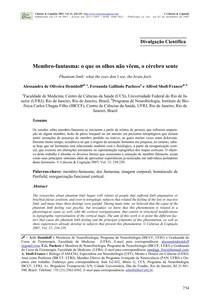 Artigo - Membro-Fantasma - Fisiologia