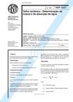 NBR 08947   1985   Telha Cerâmica   Determinação da Massa e da Absorção de Áua