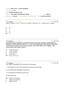 Av1 - Cálculo numérico