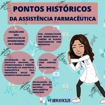 PONTOS HISTÓRICOS DA ASSISTÊNCIA FARMACÊUTICA