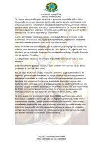 RESPOSTA DA QUESTÃO 2     SOBERANIA VS DIREITO INTERNACIONAL