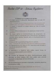 Questionário do caso 2 - Sistema nervoso central