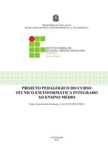 PPC Curso Técnico Integrado  Informática