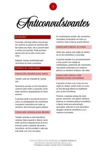 Anticonvulsivantes - 01/2021 - Prof. Filiphe