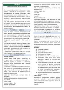 Trauma abdominal TRADUÇÃO ATLS 10ª Edição