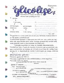 glicólise e glicogenólise