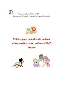 Manual Do Anthro Plus Em Portugues Avaliacao Nutricional I