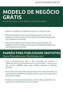 Resumo: MODELO DE NEGÓCIO GRÁTIS