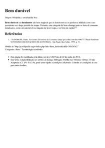 Bem durável – Wikipédia  a enciclopédia livre