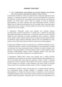 Alcaloides - Questões Teóricas e Práticas - Parte 2