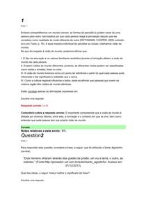 AULAS DE DPP E GESTÃO DO CONHECIMENTO 1 SEMESTRE