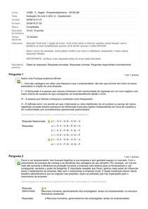 Avaliação On-Line 4 (AOL 4) -