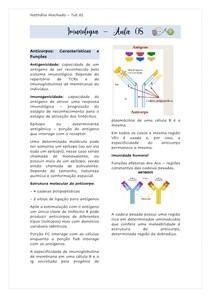 ANTICORPOS - CARACTERISTICAS E FUNÇÕES