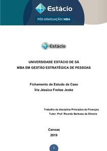 Caso Brasil Foods - Principios de financas