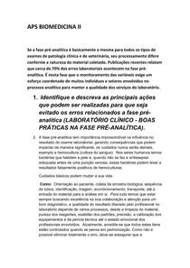 APS de Biomedicina II