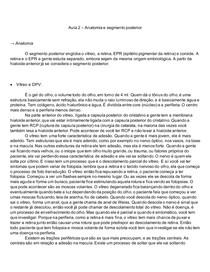 Oftalmologia Básica - Anatomia e segmento posterior