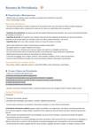 RESUMO: PERIODONTIA (inclui: Biossegurança; Exame Clínico em Periodontia; Mobilidade; Lesões de Bifurcação; Saúde & Doença Periodontal; Gengivite; Periodontite; TODAS as Doenças Periodontais explicadas; Diagnóstico Peri-implantar; Fatores de Risco; Diagnóstico Periodontal)