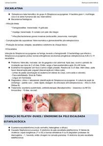 doenças Exantemáticas - Escarlatina, herpes zóster e síndrome da pele escaldada estafilocócica