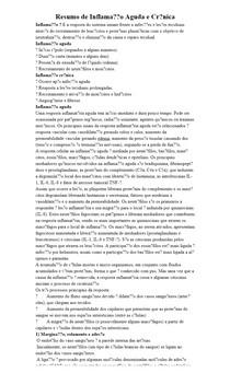 Resumo de Inflamação Aguda e Crônica