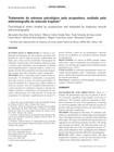 Tratamento do estresse psicológico pela acupuntura  avaliado pela eletromiografia do músculo trapézio