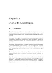 Teoria da Amostragem